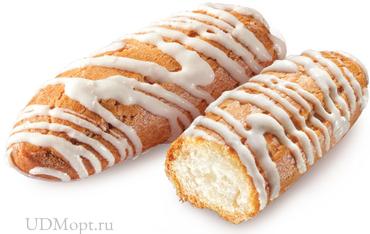 «Заварики», печенье в белой глазури, заварное (коробка 1,5кг) оптом и в розницу