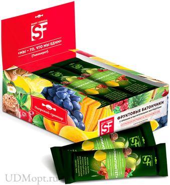 «Smart Formula», батончик фруктовый «Иммунитет», 40г оптом и в розницу