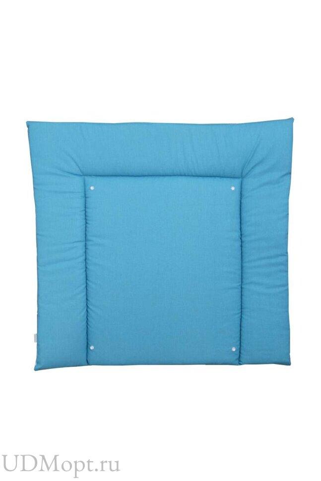 Доска пеленальная двухсторонняя Polini kids Монстрики, со съемным вкладышем, голубой оптом и в розницу