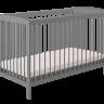 Кроватка детская Polini kids Simple 101, серый оптом и в розницу