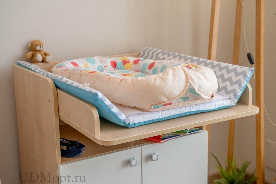 """Бортик детский Гнездышко Polini kids Disney baby Медвежонок Винни """"Чудесный день"""", желтый оптом и в розницу"""