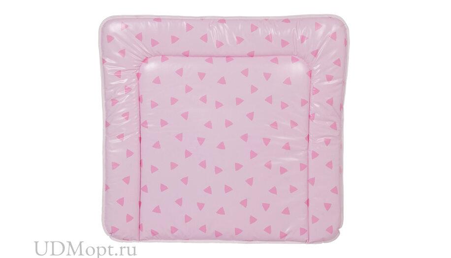 Матрас для пеленания Polini Kids Disney baby Кошка Мари 77х72, розовый оптом и в розницу