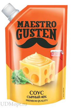 «Maestro Gusten», соус «Сырный», 196г оптом и в розницу