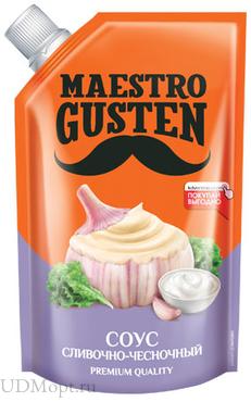«Maestro Gusten», соус «Сливочно-чесночный», 196г оптом и в розницу
