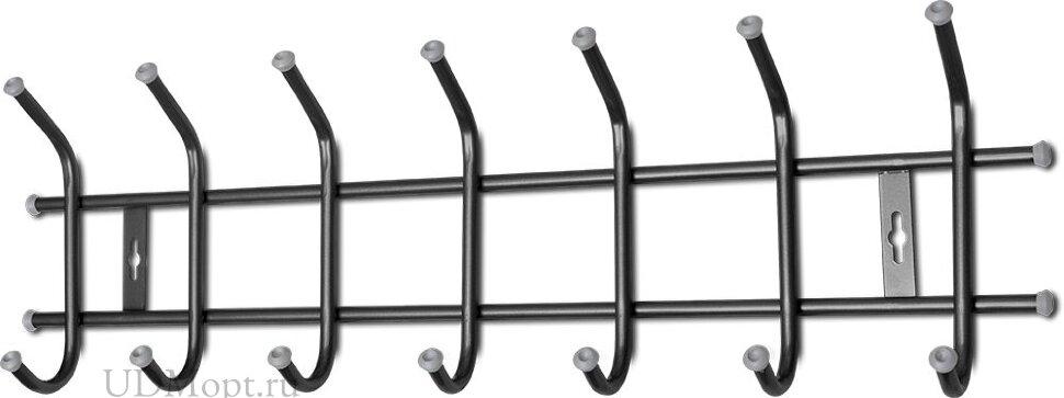 Вешалка настенная металлическая 7т оптом и в розницу