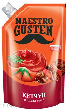 «Maestro Gusten», кетчуп «Шашлычный», 400г оптом и в розницу