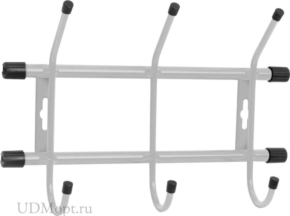 Вешалка настенная металлическая 3 оптом и в розницу