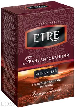 «ETRE», чай черный гранулированный, 100г оптом и в розницу