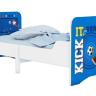 Кровать детская раздвижная Polini kids Fun 3200 Маша и Медведь, синий оптом и в розницу