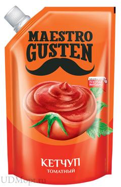 «Maestro Gusten», кетчуп «Томатный», 400г оптом и в розницу