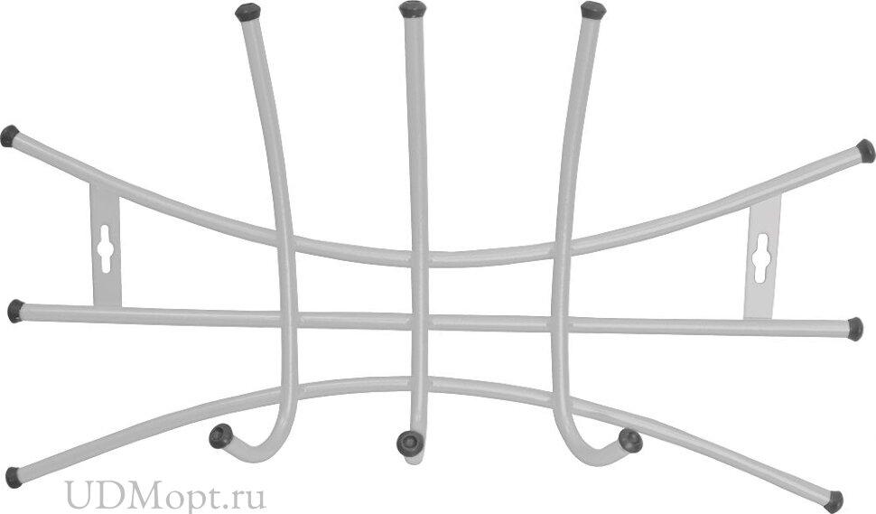 Вешалка настенная металлическая Ника-Премиум 2 оптом и в розницу
