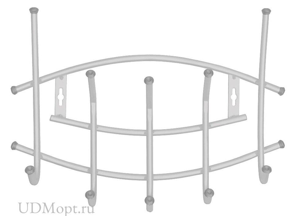 Вешалка настенная металлическая Ника-Премиум 3 оптом и в розницу