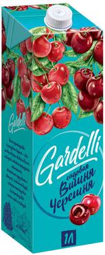 «Gardelli», нектар «Садовая вишня-черешня» оптом и в розницу