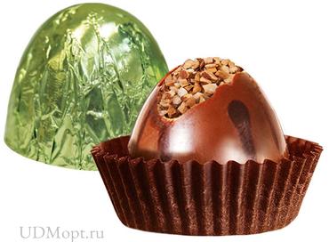 Конфета «Вулкан» лесной орех (упаковка 1кг) оптом и в розницу