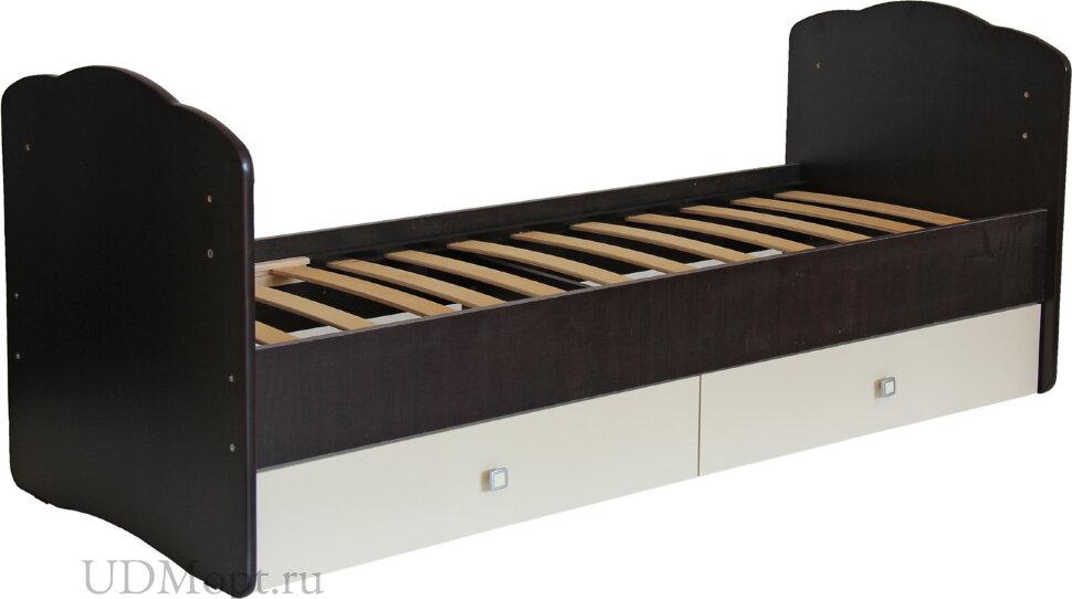 Кровать детская Фея 2100 венге-бежевый оптом и в розницу