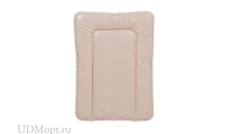 Матрас для пеленания Polini kids Слоник на комод, 70х50 см, макиато оптом и в розницу