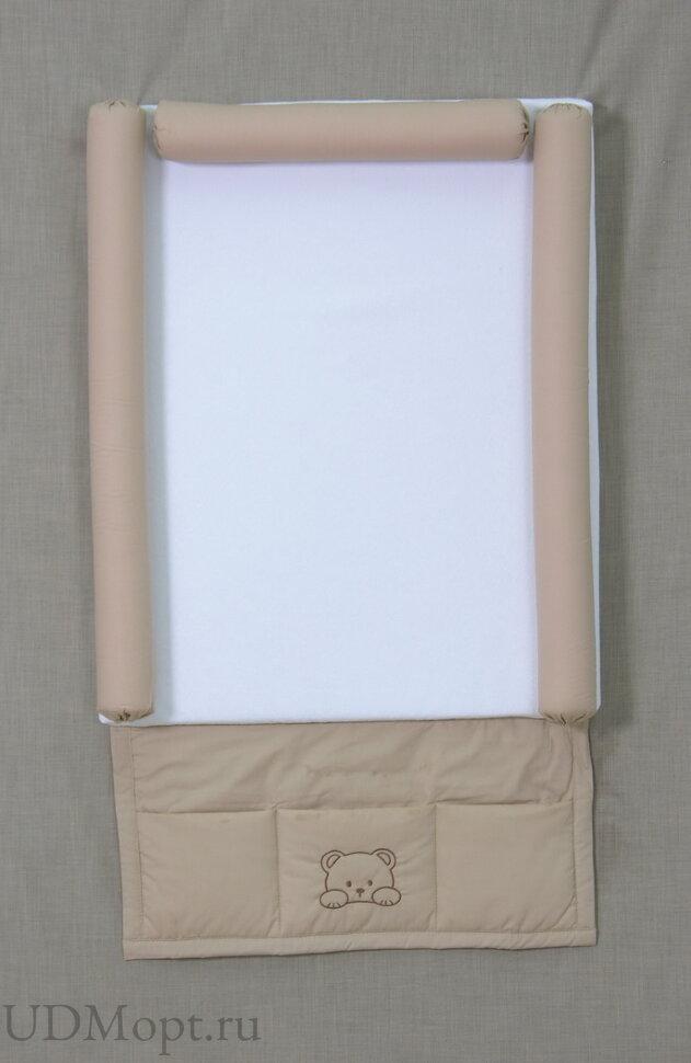 Доска пеленальная Fairy мягкая с карманом Хлопок оптом и в розницу