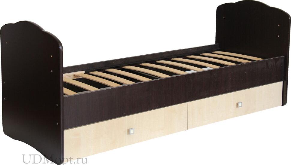 Кровать детская Фея 2100 венге-клён оптом и в розницу