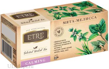 «ETRE», чайный напиток Calming мята-мелисса, 37г оптом и в розницу
