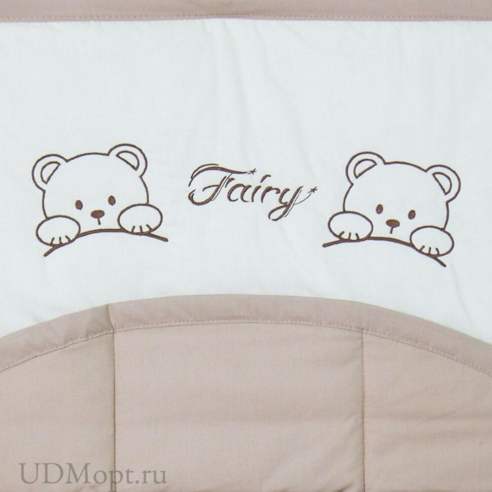 """Карман для кроватки Fairy """"Хлопок"""" оптом и в розницу"""