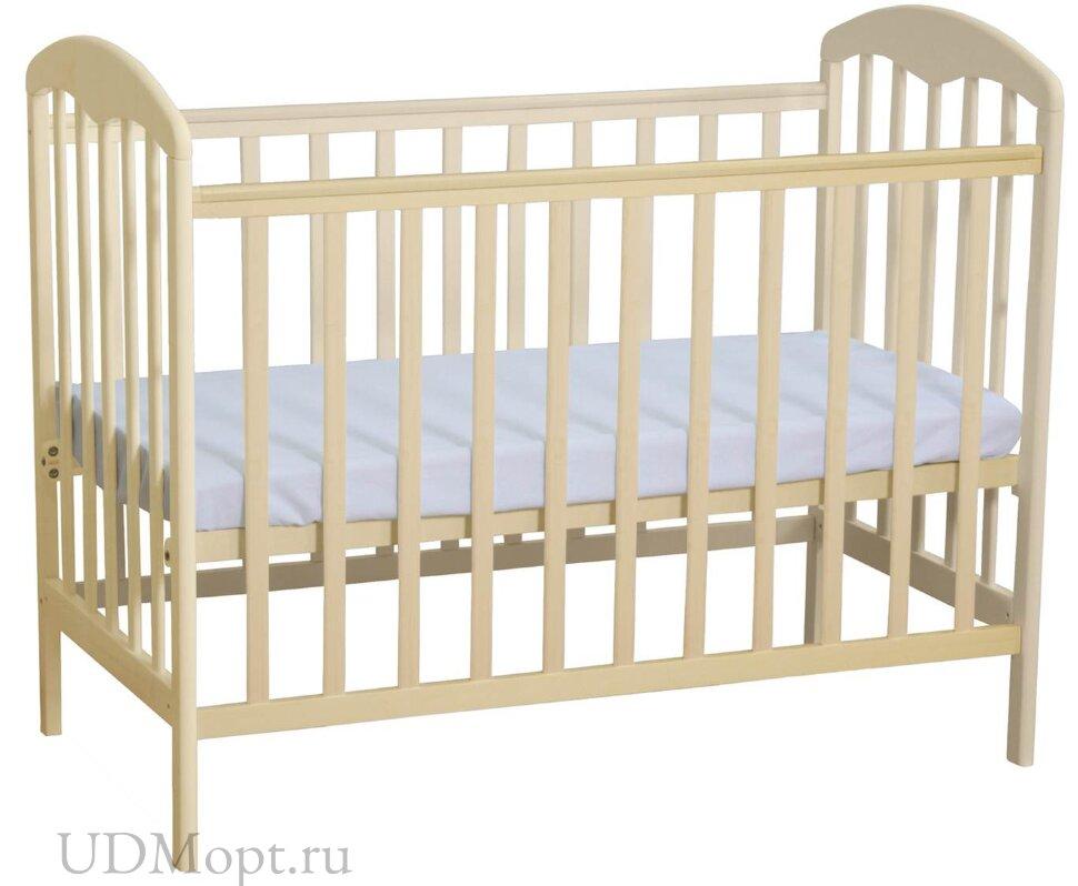 Кроватка детская Polini kids Simple 323 натуральный оптом и в розницу