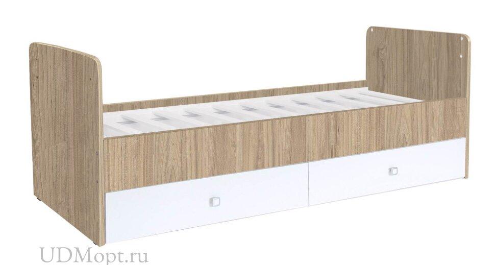 Кроватка детская Фея 1100 вяз-белый оптом и в розницу
