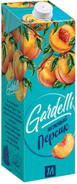 «Gardelli», нектар «Нежный персик» оптом и в розницу