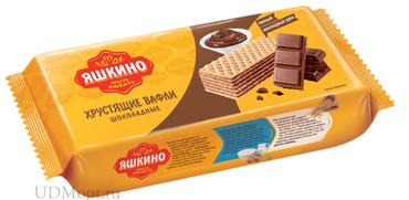 «Яшкино», вафли «Шоколадные», 300г оптом и в розницу