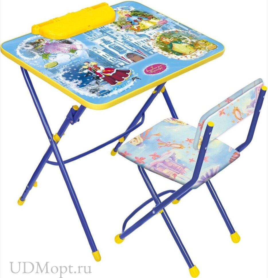 Комплект детской мебели Nika КУ3 с партой оптом и в розницу