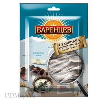 «Баренцев», ставридка серебристая сушёно-вяленая, 20г оптом и в розницу