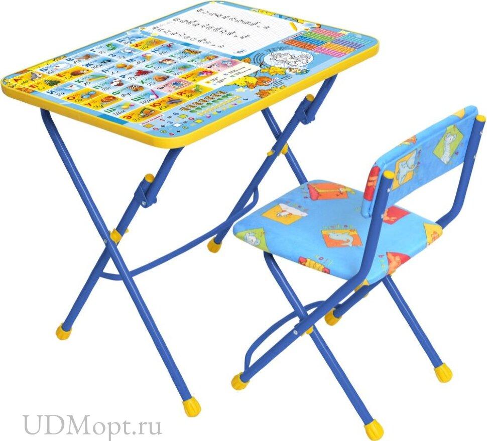 Комплект детской мебели Nika КУ1 с мягким сиденьем и подножкой оптом и в розницу