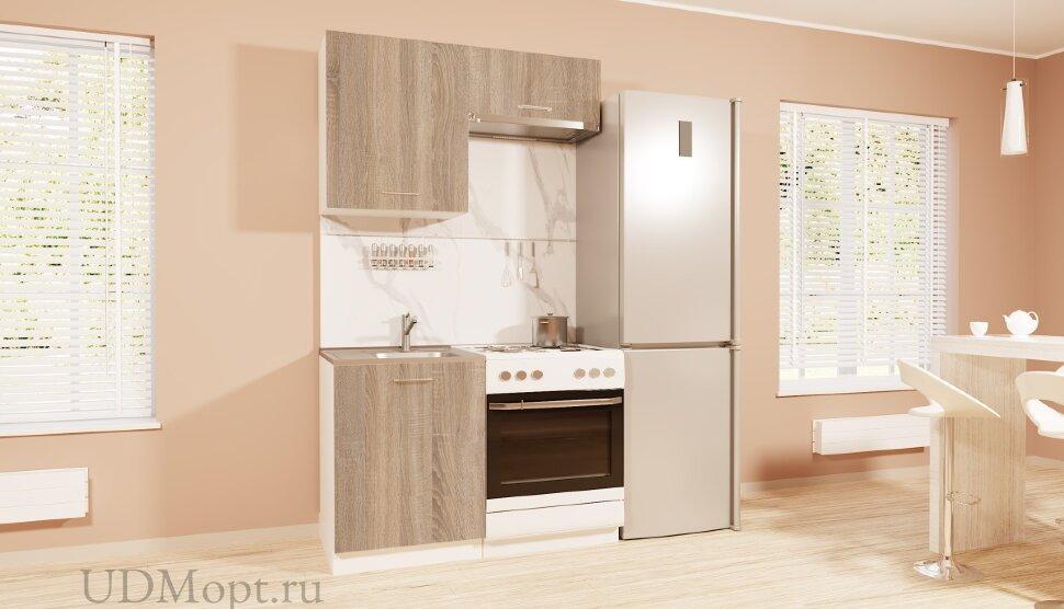 Кухонный гарнитур Polini Home Urban 1200,  дуб оптом и в розницу