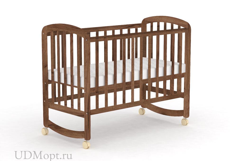 Кровать детская Фея 304 табачный дуб оптом и в розницу
