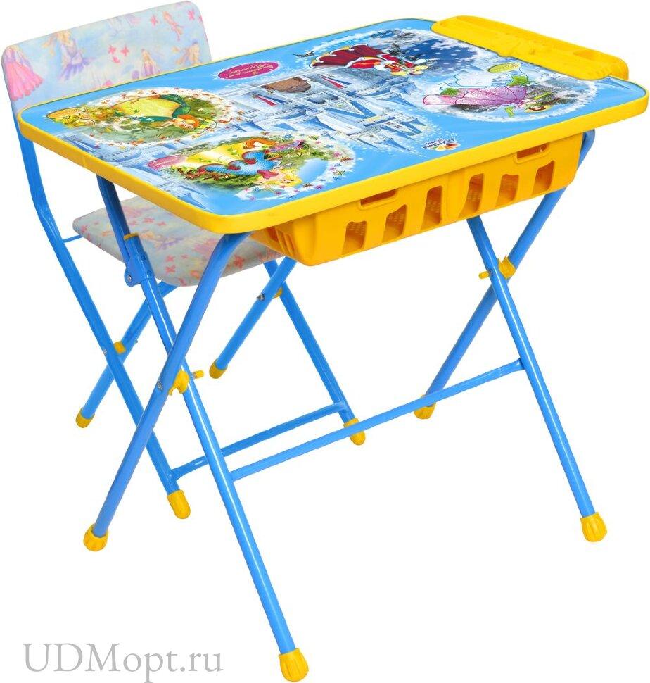 Комплект детской мебели Nika КУ2П с большим пеналом и мягким сиденьем оптом и в розницу
