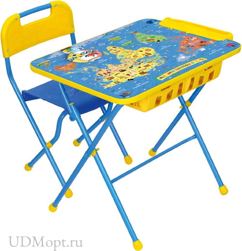 Комплект детской мебели Nika Познайка КПУ2П с большим пеналом оптом и в розницу