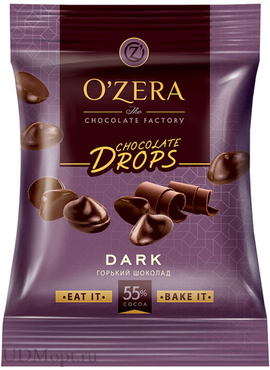 «OZera», шоколад Dark drops, 70г оптом и в розницу