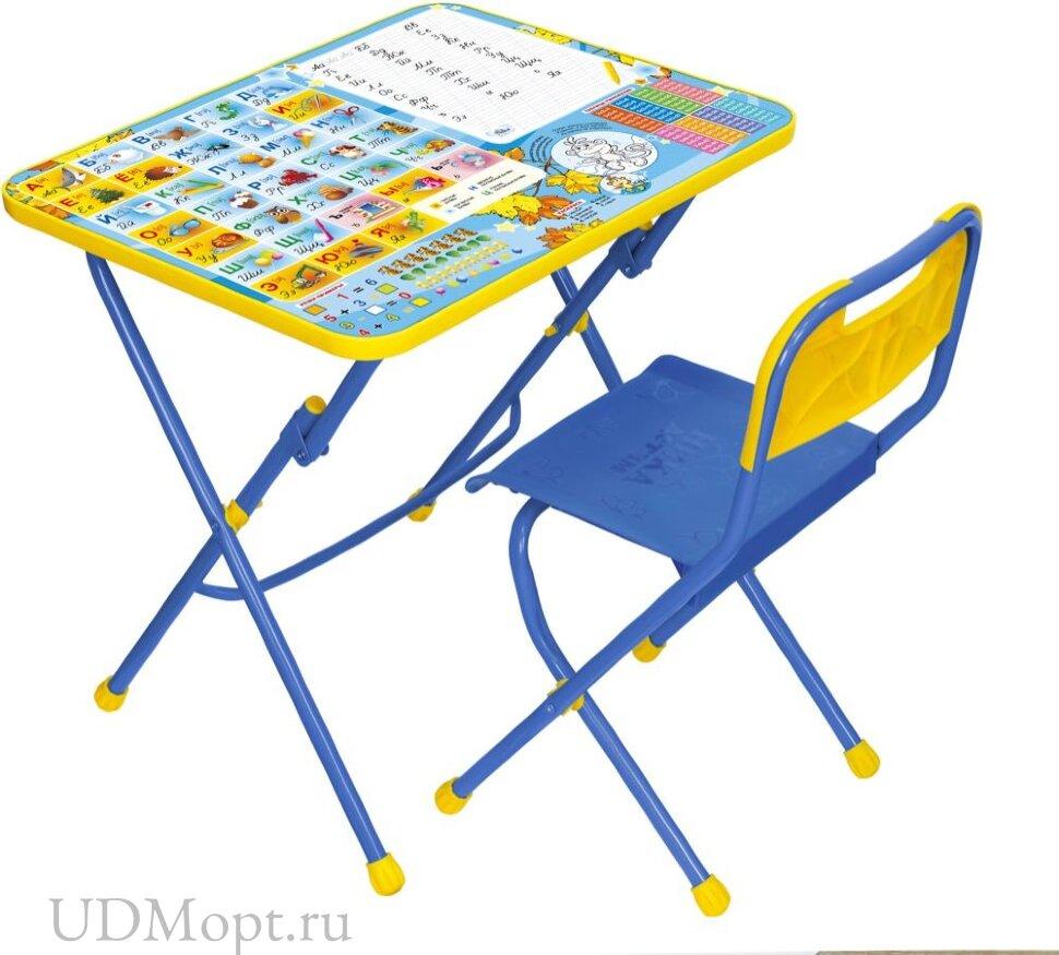 Комплект детской мебели Nika Познайка КПУ1 оптом и в розницу