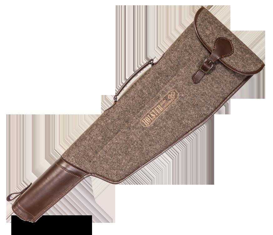 * Чехол для оружия LODEN в разобранном виде с длиной стволов до 800мм / кожа оптом и в розницу
