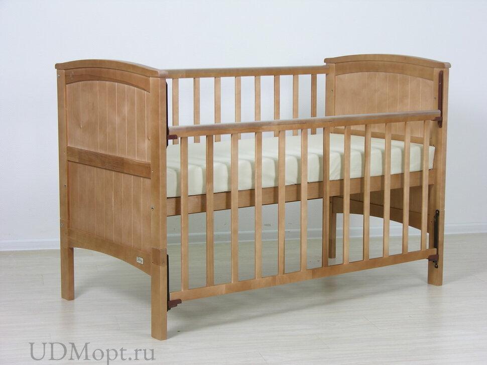Детская кровать-трансформер Фея 810 медовый оптом и в розницу